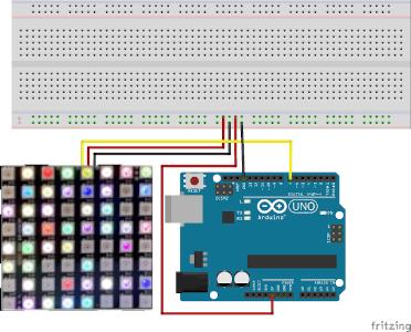 Farbenspiele mit einer RGB-Matrix